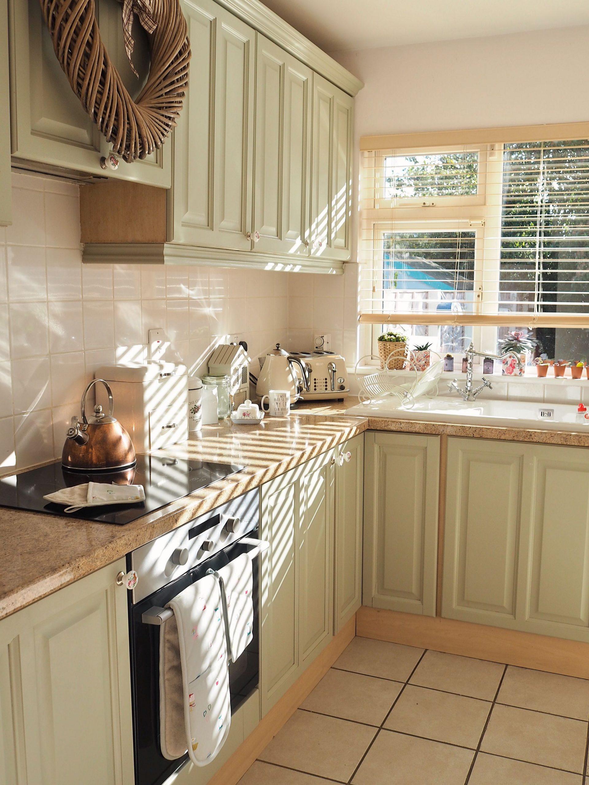 Kitchen decor, hand painted kitchen