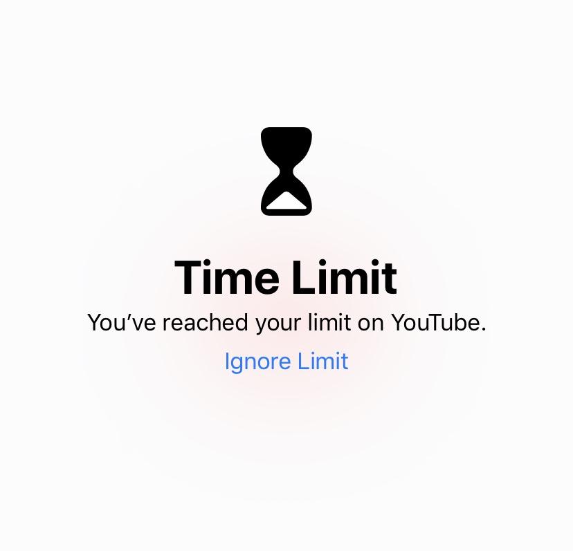 social media screen time