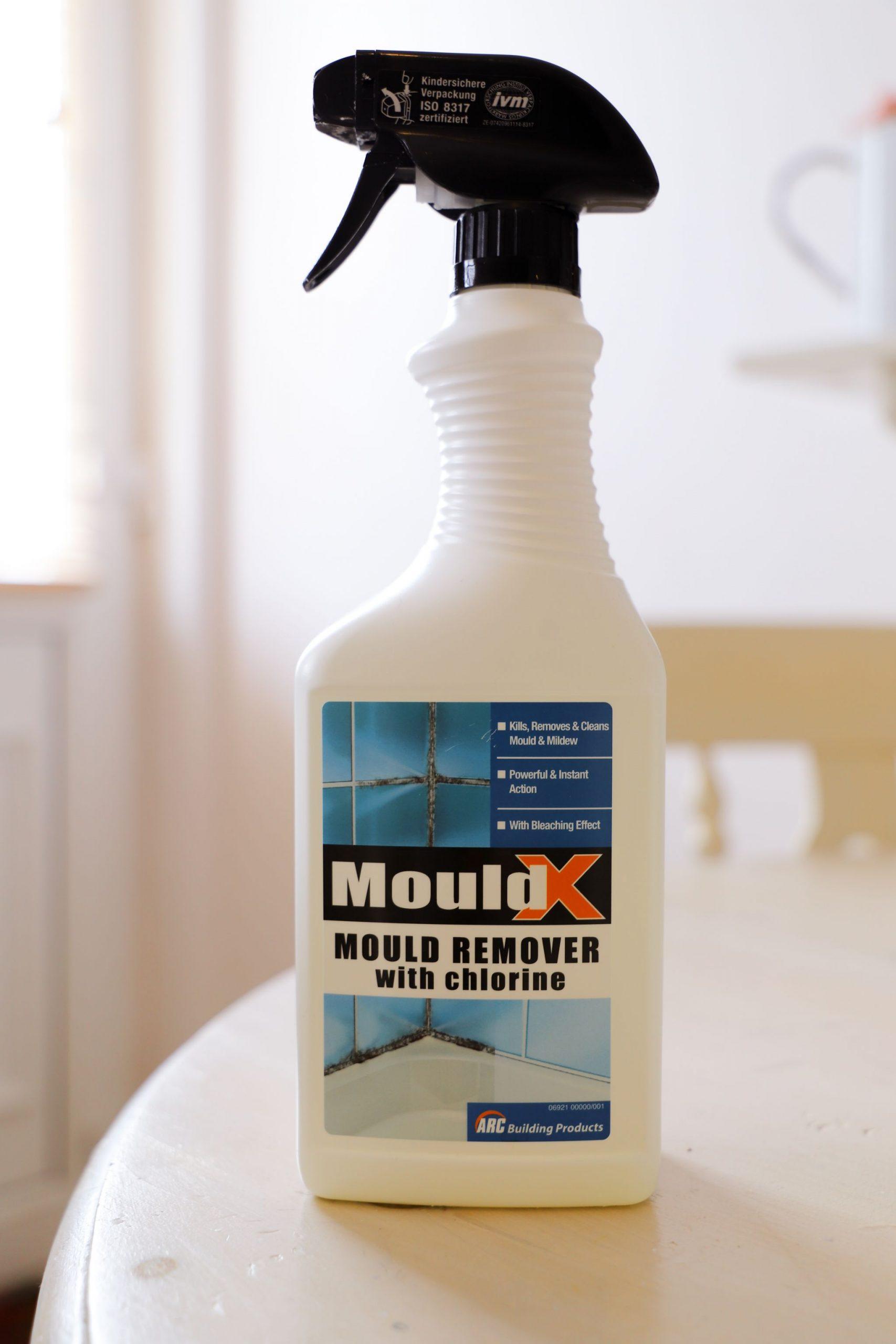 MouldX spray cleaner