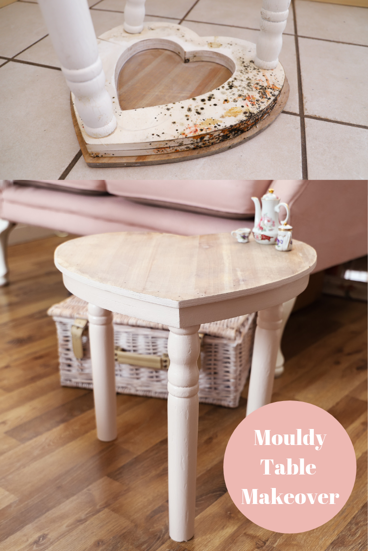 Mouldy Table Makeover
