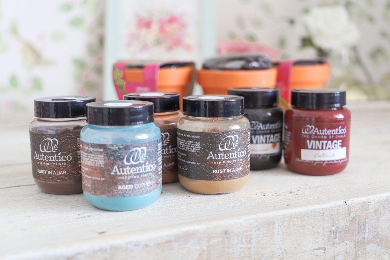 Autentico rust effect creative powders