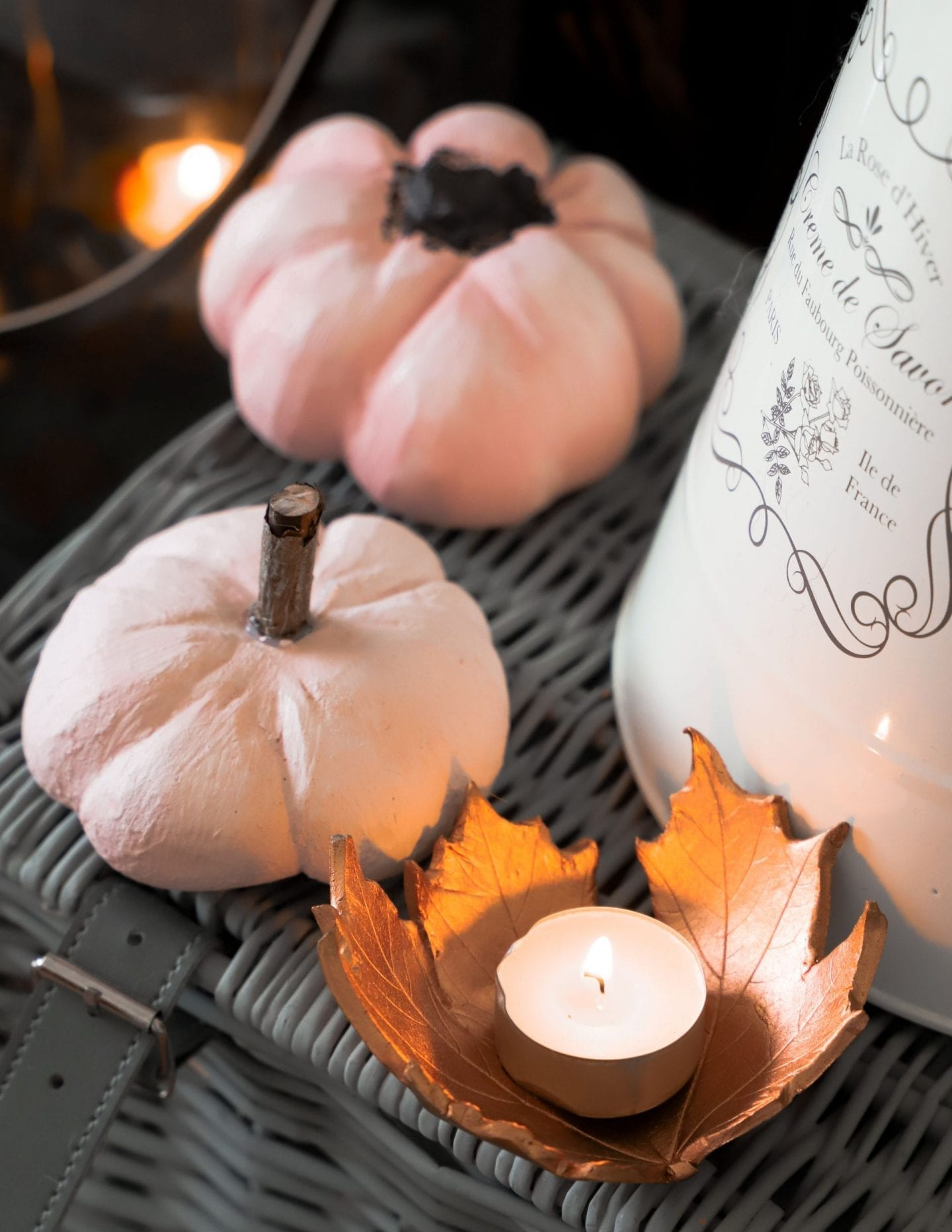 Autumn decor diy pumpkins