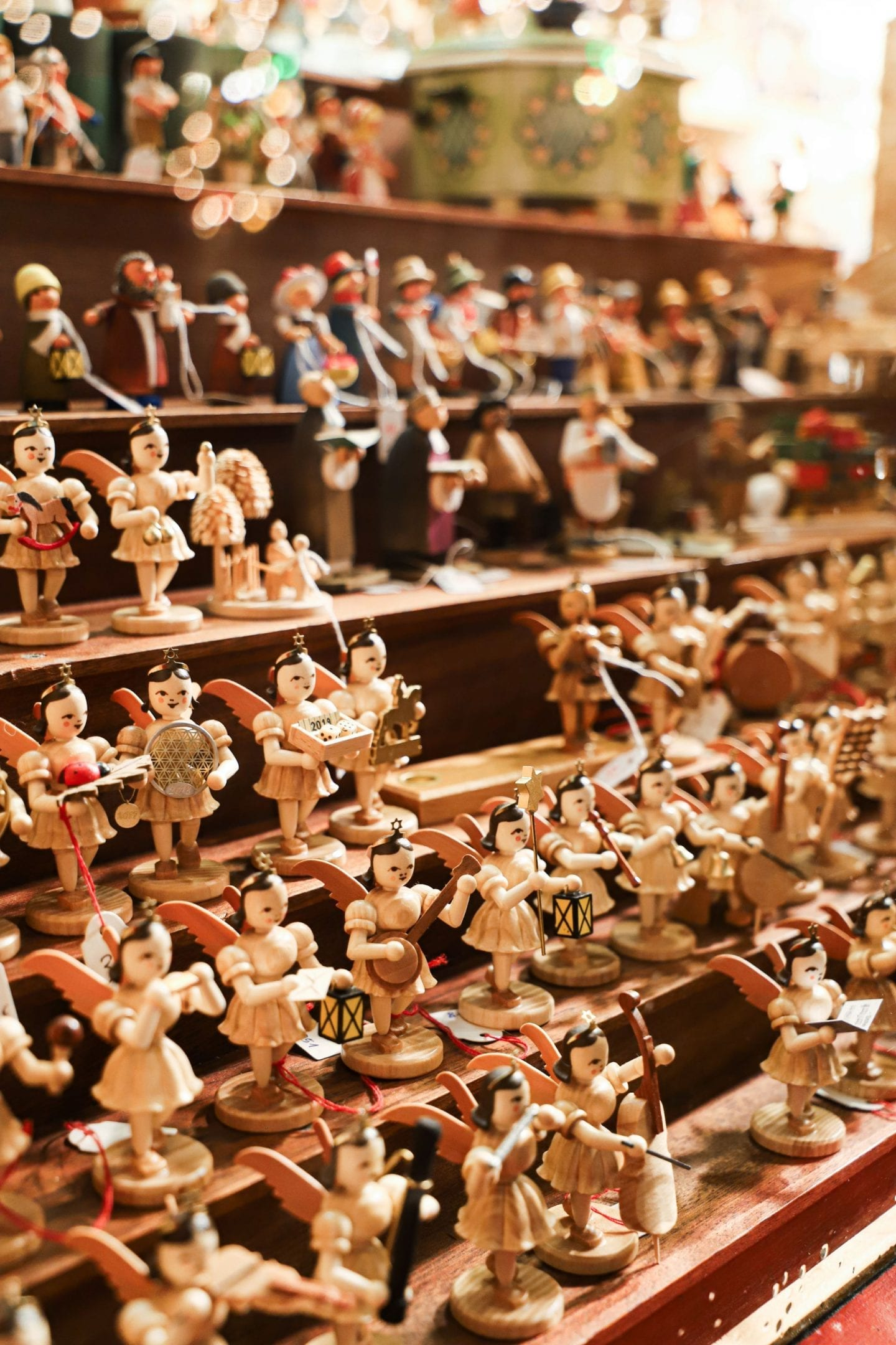 Christmas market crafts