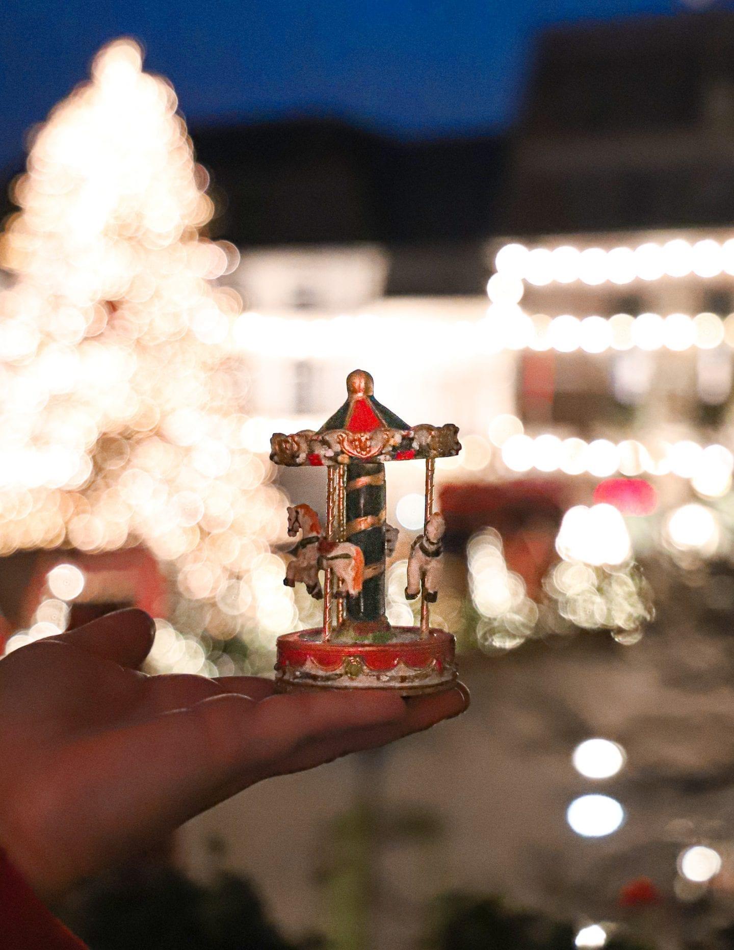 Christmas market ornaments