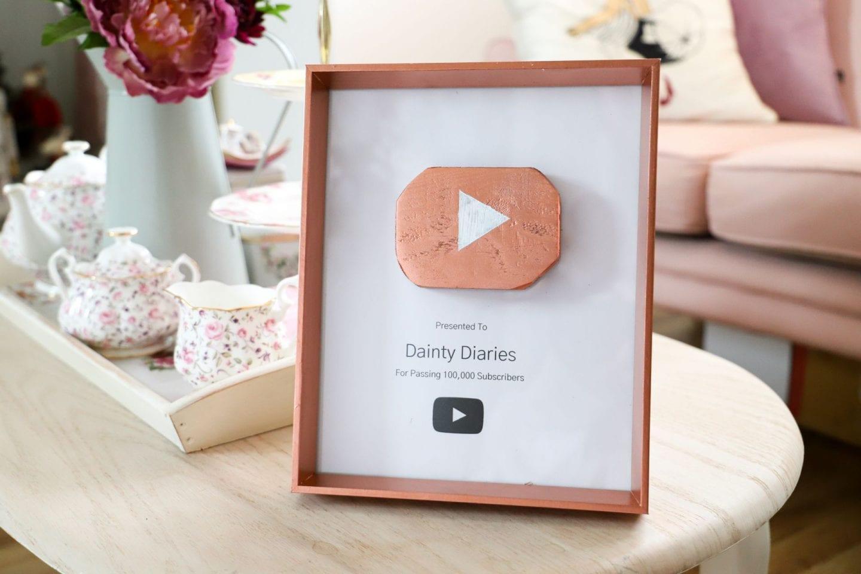 100k Subscriber DIYs