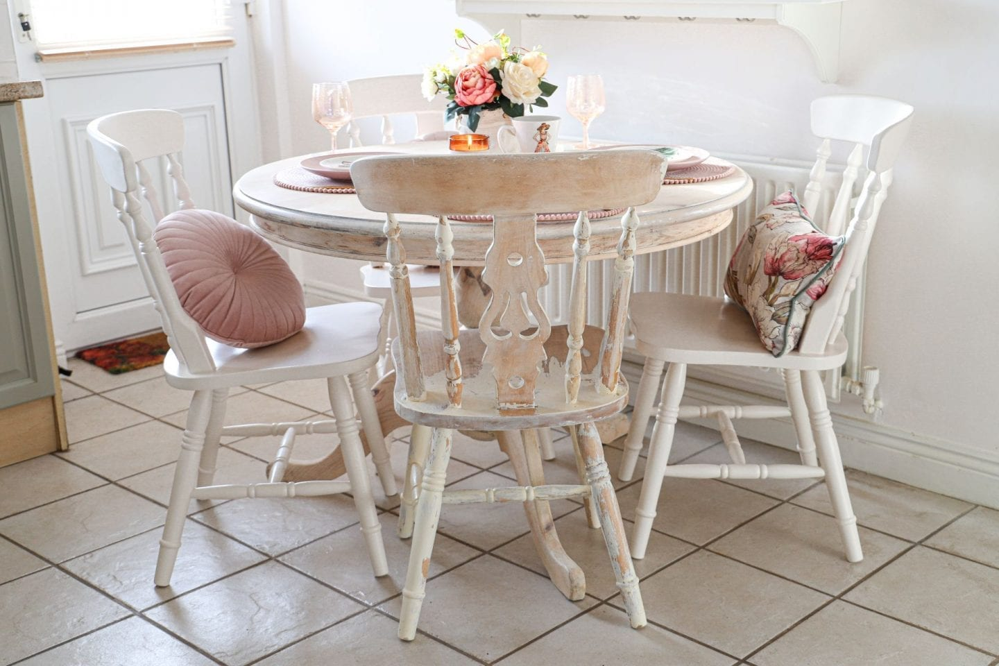Upcycled dining room chair