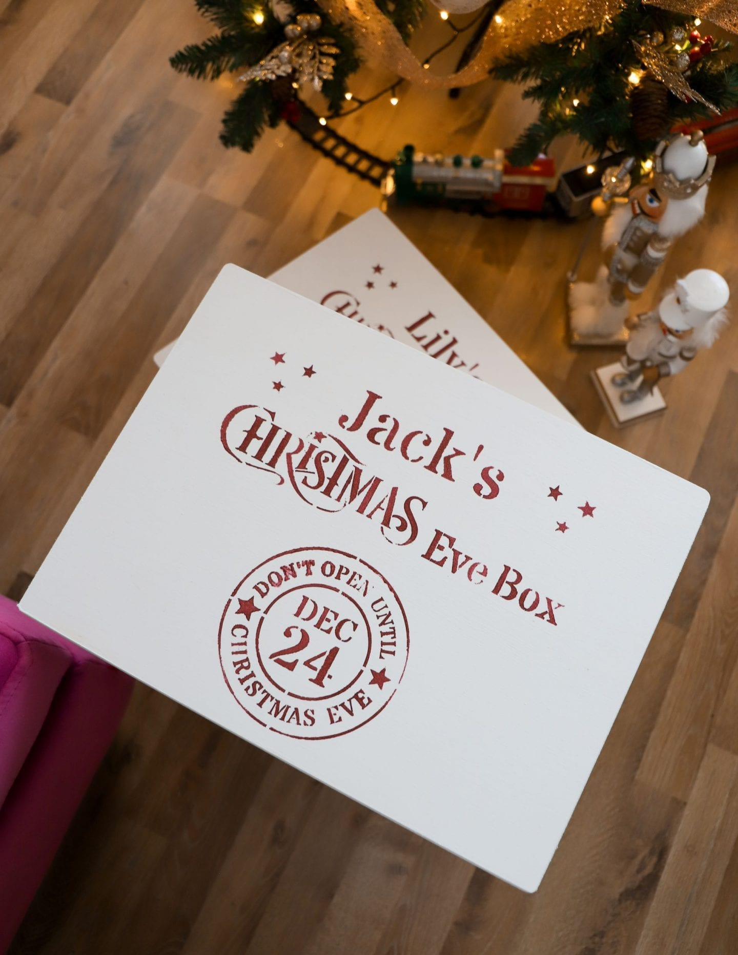 DIY Christmas Eve Box