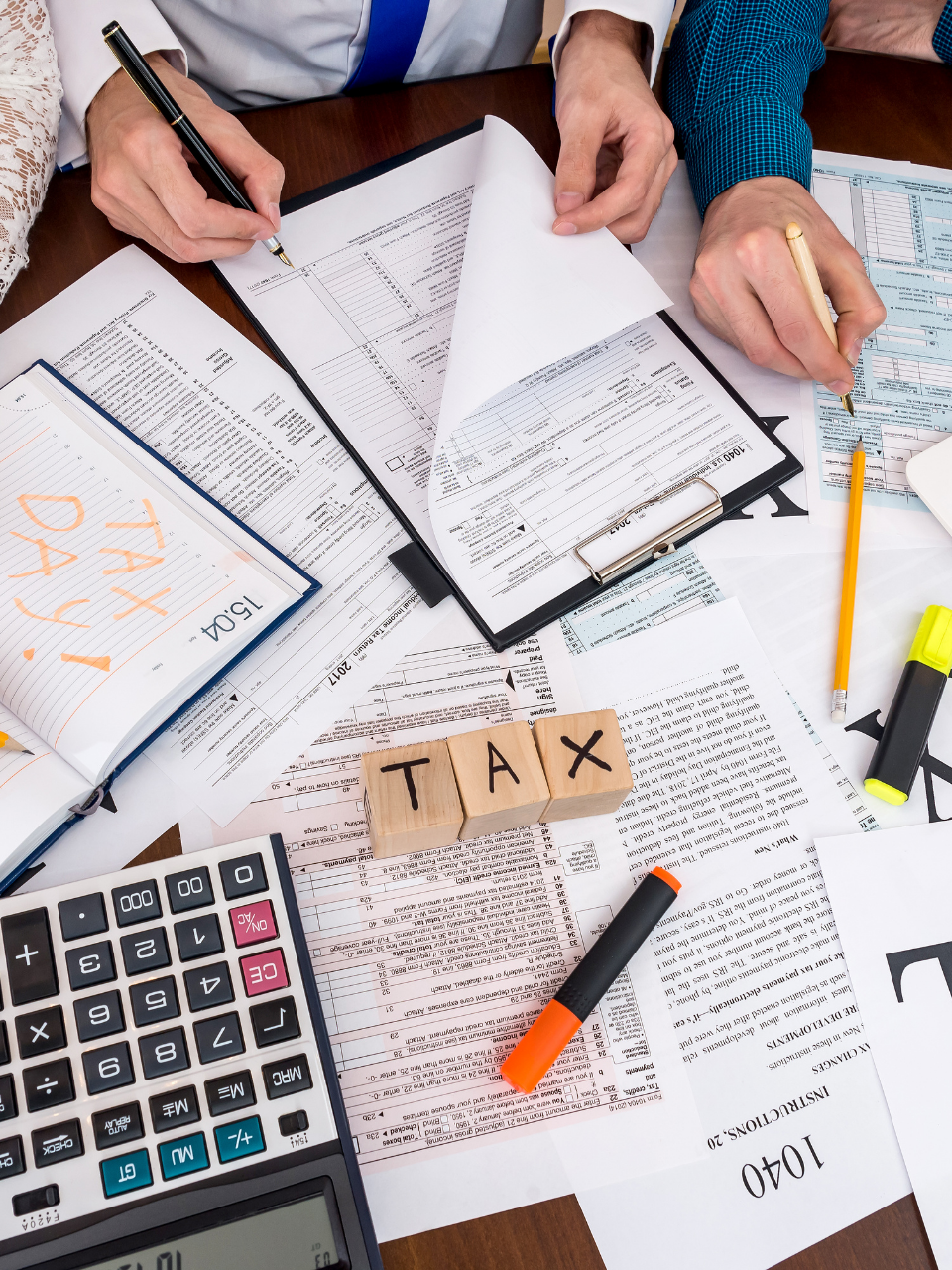Tax advice for online business
