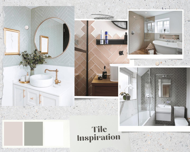 Tile inspiration for bathroom renovation