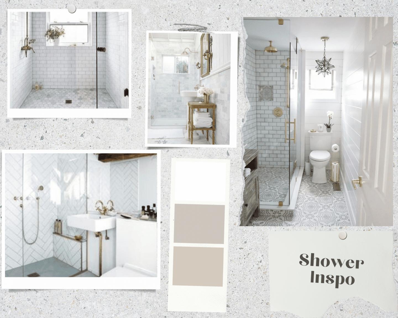 shower inspiration for bathroom