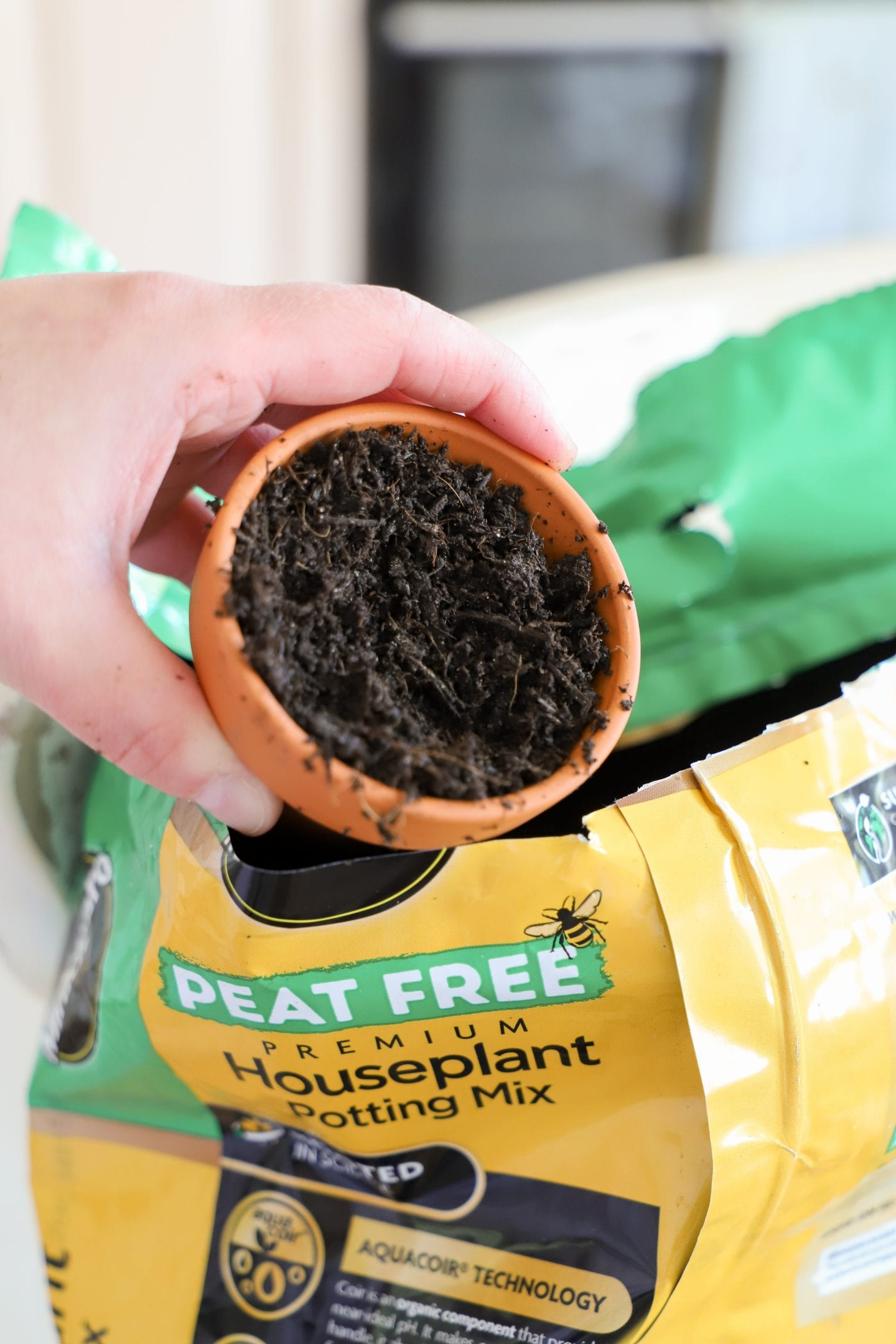 Miracle Gro Peat Free Compost